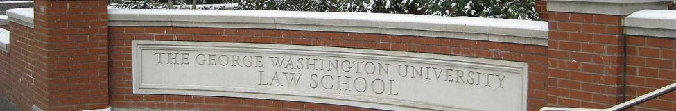 George Washington University Law School Launches New
