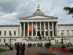 University College London Main Entrance