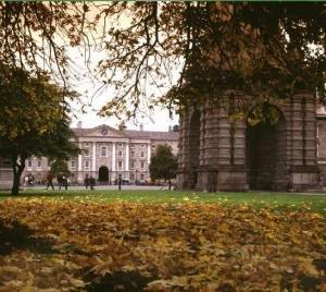 The college in the fall