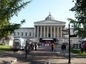 UCL Main Building Portico