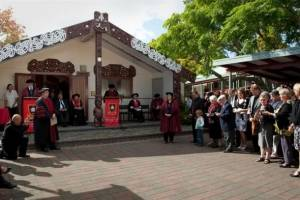 Marae graduation on campus