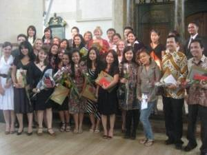 Graduation day of LLM in 2009