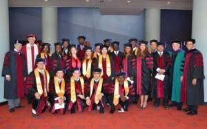 2014 LL.M. Class at Graduation
