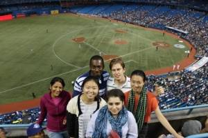 Class of 2013 - Blue Jay's baseball game