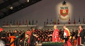June 2012 Convocation at York University