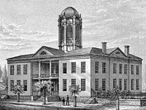 The College of Law at the University of Cincinnati in 1833