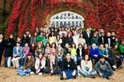 LLM Students at Cumberland Lodge, near Windsor Castle, for induction
