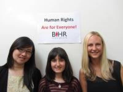Current LLM students whom won internships at the British Institute of Human Rights