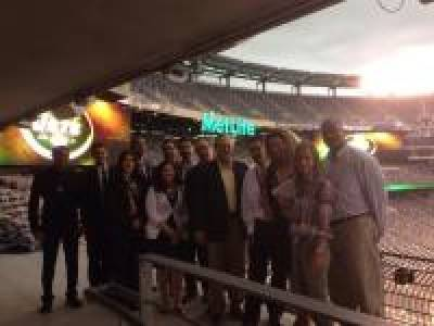 SPORTS LAW STUDENTS AT THE METLIFE STADIUM