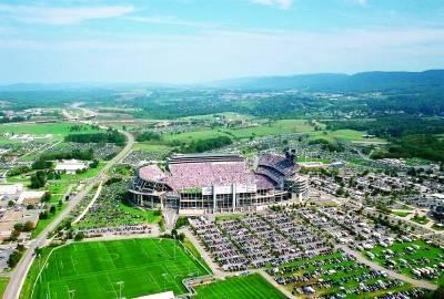 Beaver Stadium, home to Penn State's Nittany Lions football team.