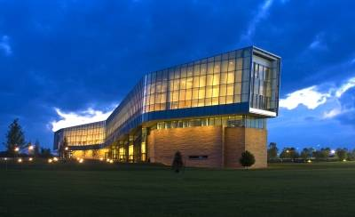 The Lewis Katz Building, home of Penn State Law and one of the world's most innovative academic buildings.