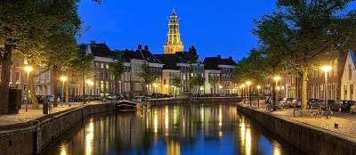 No matter where one lives in Groningen, typical Dutch canals are usually not very far away.
