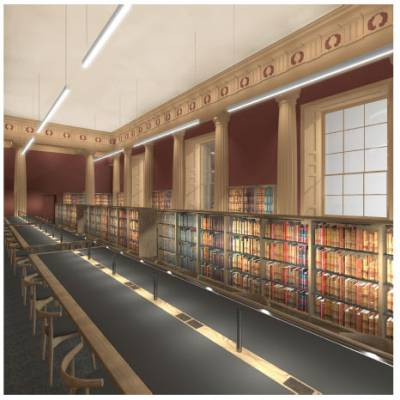 Artist's impression: New Law Library - Senate Room