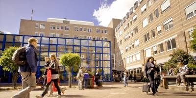 The Faculty of Law is located in the Harmonie Complex (Photo by Michel de Groot)