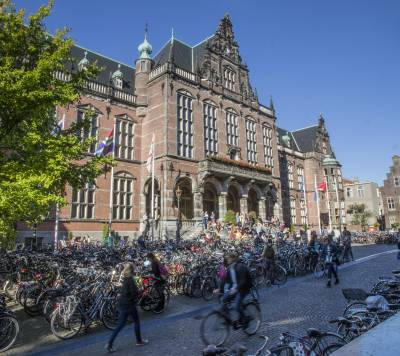The University of Groningen Academy Building (Photo by Peter van der Sijde)