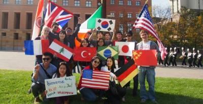 "The University of Cincinnati is one of the ""Top 3 Most Welcoming Universities for Internationals"" (International Student Barometer)"
