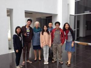 Students and teacher at CMU