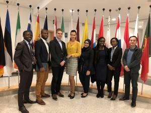 Visit to the European Parliament