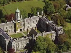 NUI Galway Quadrangle Aerial View