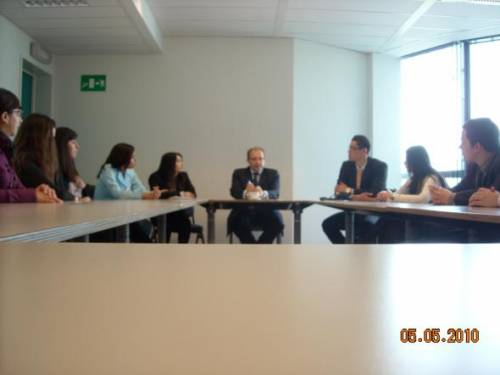 Meeting at DG Relex with Mr. Gustavo Martin Prada