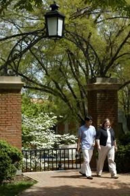 LLMs stroll around campus