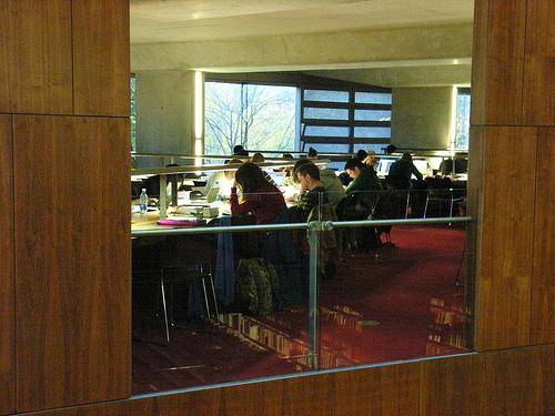 Inside the Ussher library