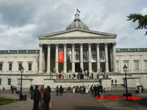 University College London Main Entrance