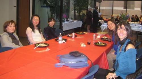 GGU Graduate Law (LLM/SJD) Annual Thanksgiving Lunch/International Education Week 2009