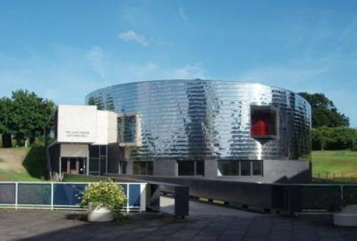 Ivor Crewe lecture theatre - opened 2007 and described by Prince Charles as like an extraterrestrial garbage can that landed on Essex!