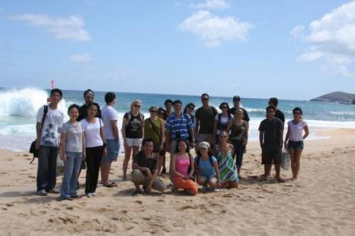 As part of our Orientation, LLM students take a bus tour up to the North Shore and around the island.