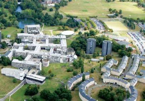 Colchester campus from the air