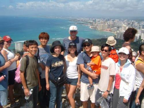 Our LLM students participate in several Special Events throughout the year, like hiking up Diamond Head Crater with the Law School Dean