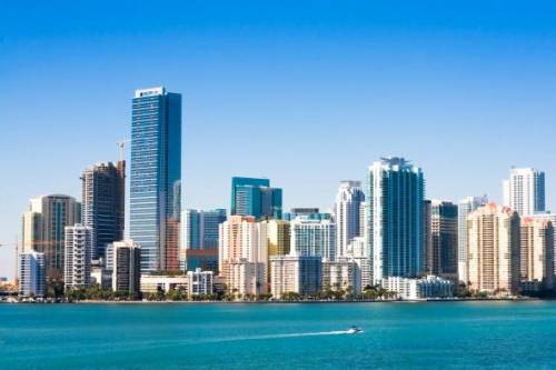 Miami is the largest financial capital in the U.S. after New York City.