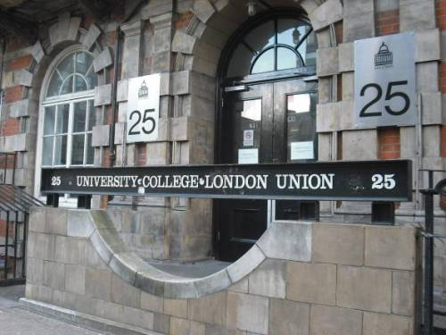 UCL Student Union Main Entrance