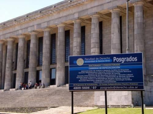 Universidad de Buenos Aires - Facultad de Derecho - Posgrados