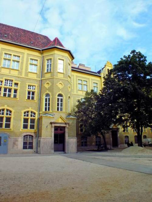 University building of the K