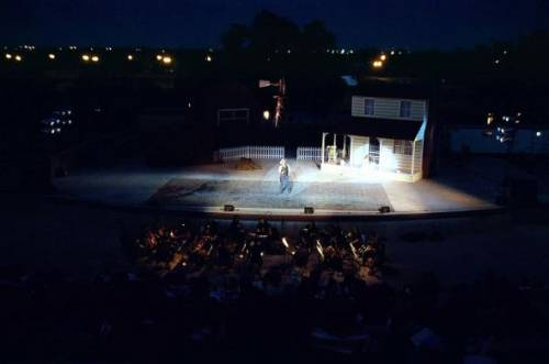 The Lubbock outdoor ampitheater offers one of just many cultural opportunities that can be found in the community.