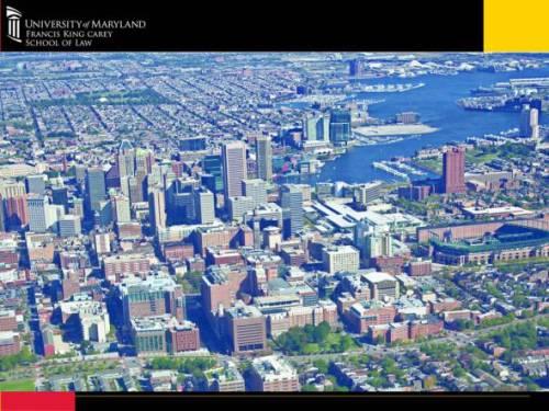 Baltimore City Area view