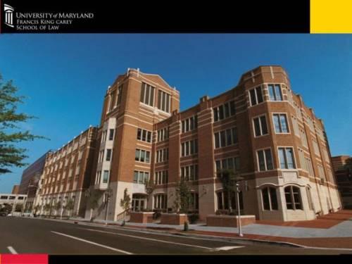 Maryland Carey Law Building