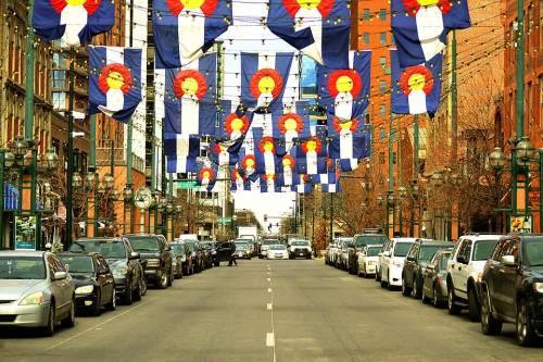 Downtown Denver.