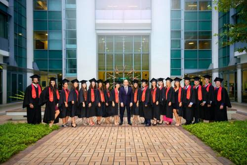 LLM in International Business Law 2018-2019 Graduation.