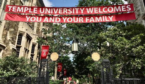 Temple University Welcomes You and Your Family