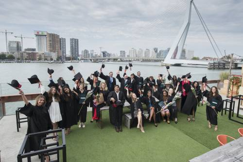 Graduation party at 'de Maas'