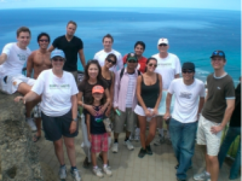 Atop Diamond Head Crater