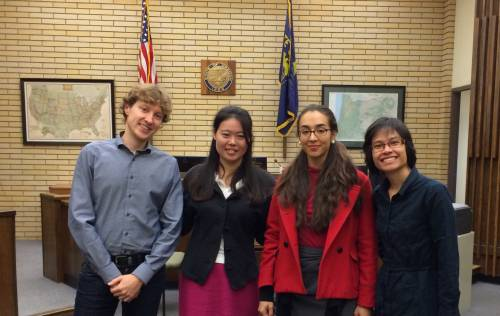 LL.M. students visit a local court