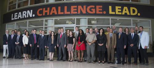 Scalia Law faculty embrace the Learn.Challenge.Lead. philosophy.
