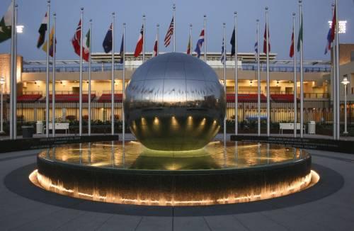Chapman's Global Citizen's Plaza