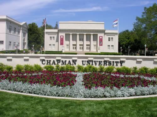 Chapman's main campus in Orange, California.