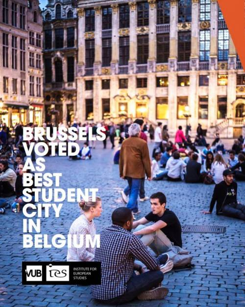 Brussels voted as best student city in Belgium