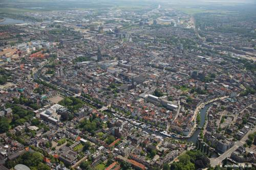 Groningen from above (Photo by Aerophoto Eelde)